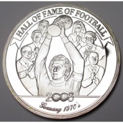 2000 shillings 2006 PP - Hall of fame of football - Franz Beckenbauer