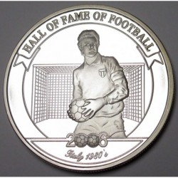 2000 shillings 2006 PP - Hall of fame of football - Dino Zoff