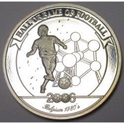 2000 shillings 2006 PP - Hall of fame of football - Eric Gerets