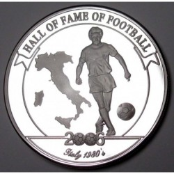 2000 shillings 2006 PP - Hall of fame of football - Claudio Gentile