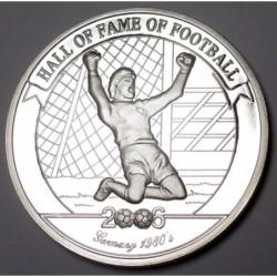 2000 shillings 2006 PP - Hall of fame of football - Harald Schmumacher