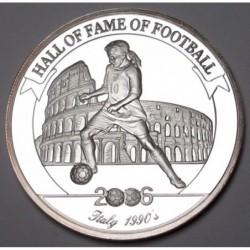 2000 shillings 2006 PP - Hall of fame of football - Roberto Baggio