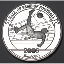 2000 shillings 2006 PP - Hall of fame of football - Pele