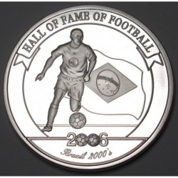2000 shillings 2006 PP - Hall of fame of football - Ronaldo