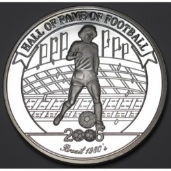 2000 shillings 2006 PP - Hall of fame of football - Zico