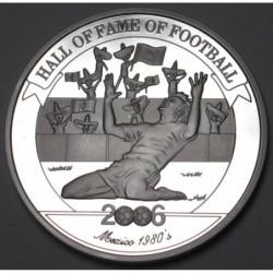 2000 shillings 2006 PP - Hall of fame of football - Hugo Sánchez