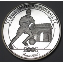 2000 shillings 2006 PP - Hall of fame of football - Laurent Blanc