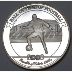 2000 shillings 2006 PP - Hall of fame of football - George Weah