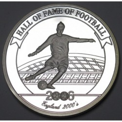 2000 shillings 2006 PP - Hall of fame of football - David Beckham