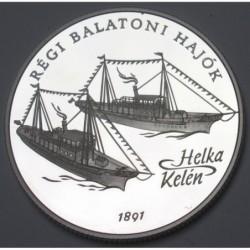 2000 forint 1997 PP - Old Balaton ships - Helka and Kelén