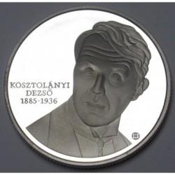 5000 forint 2010 PP - Kosztolányi Dezsõ
