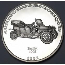 10 francs 2002 PP - Berliet 1908