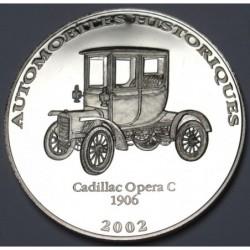 10 francs 2002 PP - Cadillac Opera C 1906