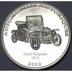 10 francs 2002 PP - Opel Torpedo 1911