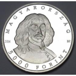 5000 forint 2014 PP - Zrínyi Miklós