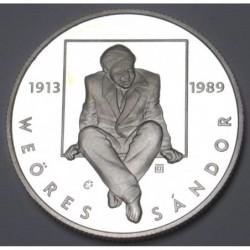 5000 forint 2013 PP - Weöres Sándor