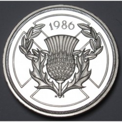 2 pounds 1986 PP - Commonwealth Games