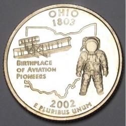 quarter dollar 2002 S PP - Ohio