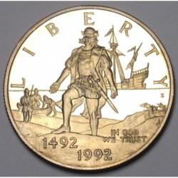 Half dollar 1992 S PP - Columbus explore America