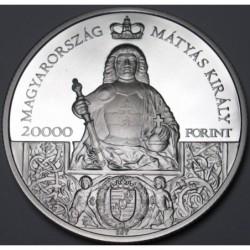 20000 forint 2018 PP - King Matthias