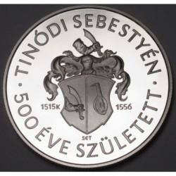 10000 forint 2015 PP - Tinódi Lantos Sebestyén