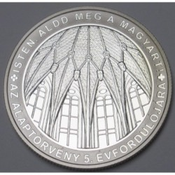 10000 forint 2016 PP - 5th anniversary of the new Hungarian Constitution
