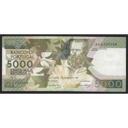 5000 escudos 1987
