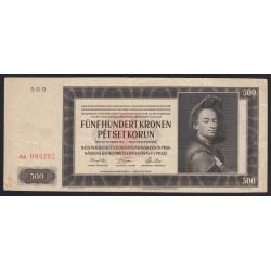 500 korun 1942