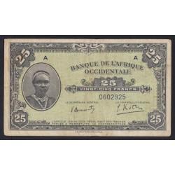 25 francs 1942