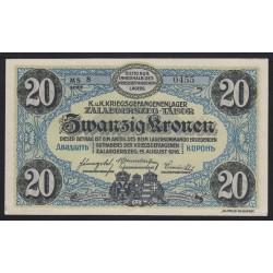 20 korona/kronen 1916 - Zalaegerszeg