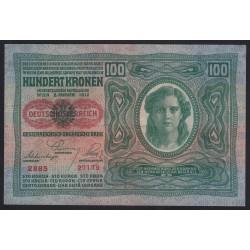 100 kronen 1919