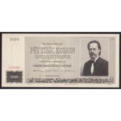 5000 korun 1945