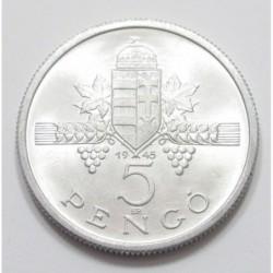 5 pengő 1945