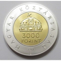 3000 forint 1999 - 1000th Anniversary of the Hungarian Kingdom