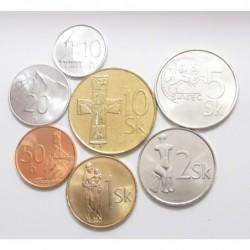 Slovakian coin set 2004-2007