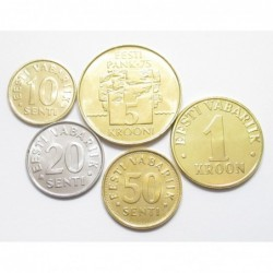 Estonia coin set 2003