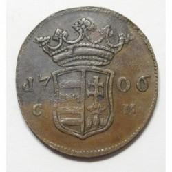 II. Ferenc Rákóczi X poltura 1706 CM - Kosice