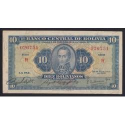 10 bolivianos 1928