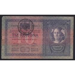 10 kronen/korona 1919