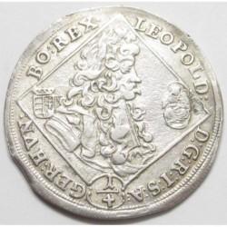 Leopold I. 1/4 thaler 1703 KB