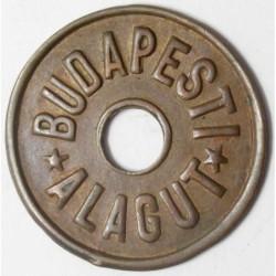 Budapest Alagut ticket 1866-1918