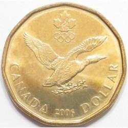 1 dollar 2006 - Lucky Loonie