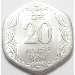 20 paise 1987 x