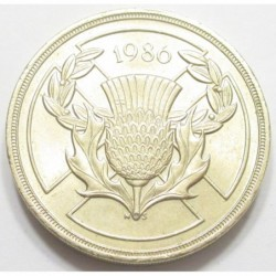 2 pounds 1986 - XIII. Commonwealth Games