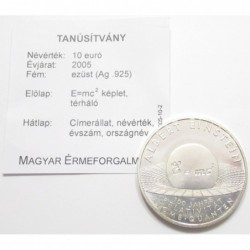 10 euro 2005 - theory of relativity