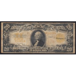 20 dollars 1922 - Gold Certificate