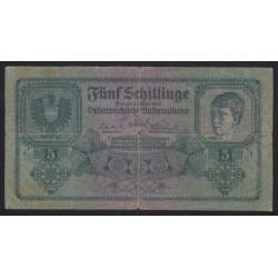 5 schilling 1925