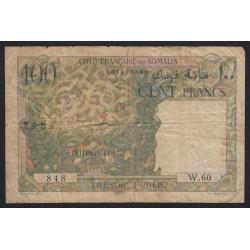 100 francs 1952