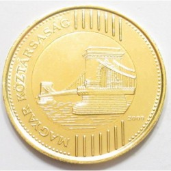 200 forint 2009 - gold-plated