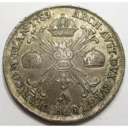 Joseph II. 1 kronenthaler 1789 M